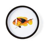 Fire Clownfish Wall Clock