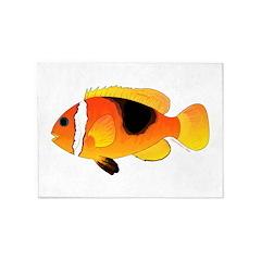 Fire Clownfish 5'x7'Area Rug