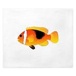 Fire Clownfish King Duvet