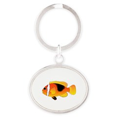 Fire Clownfish Keychains
