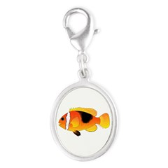 Fire Clownfish Charms