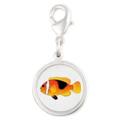 Fire Clownfish Charms