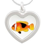 Fire Clownfish Necklaces