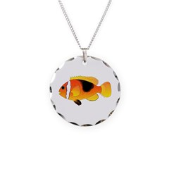 Fire Clownfish Necklace