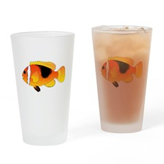 Fire Clownfish c Drinking Glass