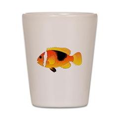 Fire Clownfish c Shot Glass