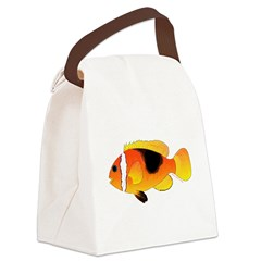 Fire Clownfish c Canvas Lunch Bag
