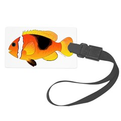 Fire Clownfish C Luggage Tag