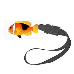 Fire Clownfish C Luggage Tag