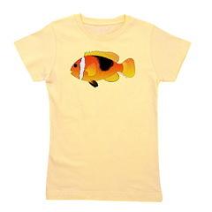 Fire Clownfish c Girl's Tee