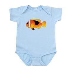 Fire Clownfish c Body Suit