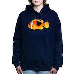 Fire Clownfish c Women's Hooded Sweatshirt