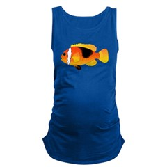 Fire Clownfish c Maternity Tank Top