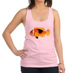 Fire Clownfish c Racerback Tank Top