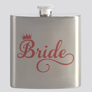 Bride red Flask