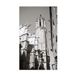 Gargoyles of La Catedral Sticker (Rectangle)