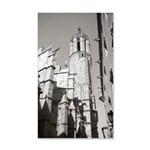 Gargoyles of La Catedral 35x21 Wall Decal