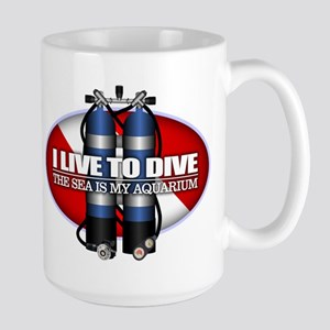 Live To Dive (ST) Mugs