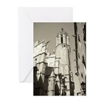Gargoyles of La Catedral Greeting Cards (Pk of 20)