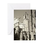 Gargoyles of La Catedral Greeting Card