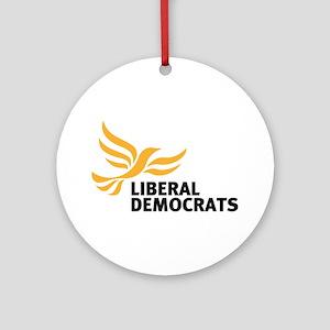 Liberal Democrats Ornament (round)