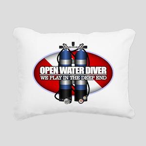 Open Water Diver (Scuba Tanks) Rectangular Canvas
