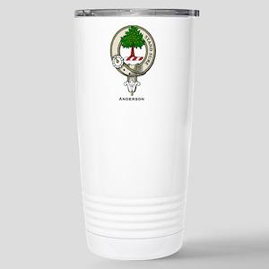 Anderson Clan Badge Travel Mug