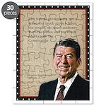 President Ronald Reagan Quote Puzzle