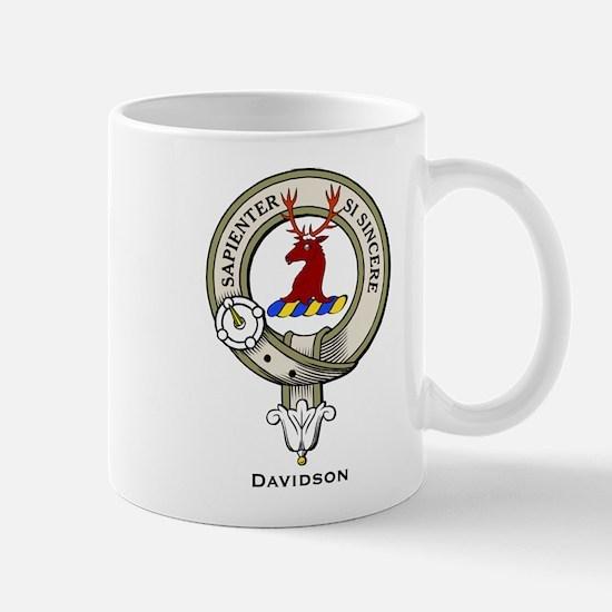 Davidson Clan Badge Mugs
