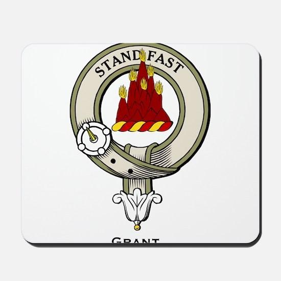 Grant Clan Badge Mousepad