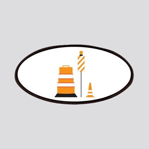 Construction Zone Cones Patch