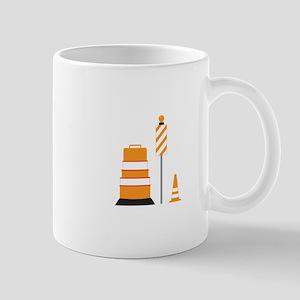 Construction Zone Cones Mug