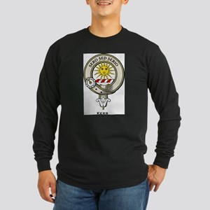 Kerr Clan Badge Long Sleeve T-Shirt