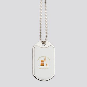 Under Construction Dog Tags