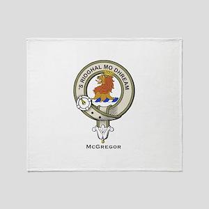 McGregor Clan Badge Throw Blanket