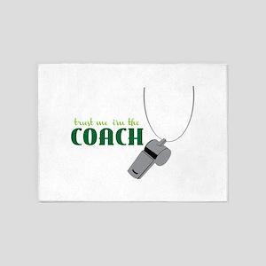 Im The Coach 5'x7'Area Rug