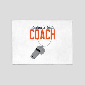 Daddy's Little Coach 5'x7'Area Rug