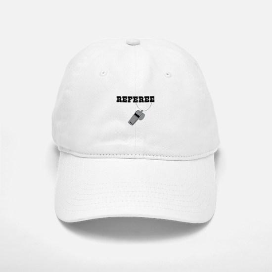 Referee Whistle Baseball Baseball Cap