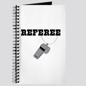 Referee Whistle Journal