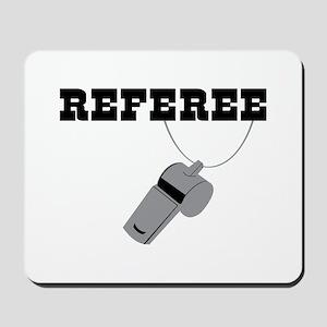 Referee Whistle Mousepad