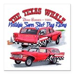 The Texas Whale - 2014 Square Car Magnet 3