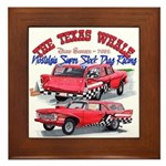 The Texas Whale - 2014 Framed Tile