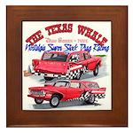 The Texas Whale - 2014 Framed Tile