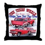 The Texas Whale - 2014 Throw Pillow