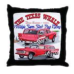 The Texas Whale - 2014 Throw Pillow