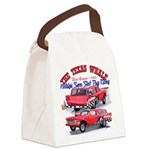 The Texas Whale - 2014 Canvas Lunch Bag