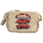 The Texas Whale - 2014 Messenger Bag