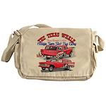 The Texas Whale - 2014 Messenger Bag