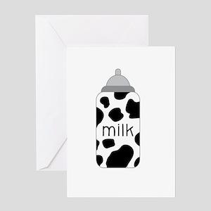 Milk Greeting Cards