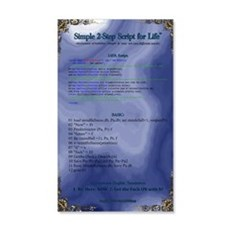 Simple Secret 2 Life Script Wall Decal